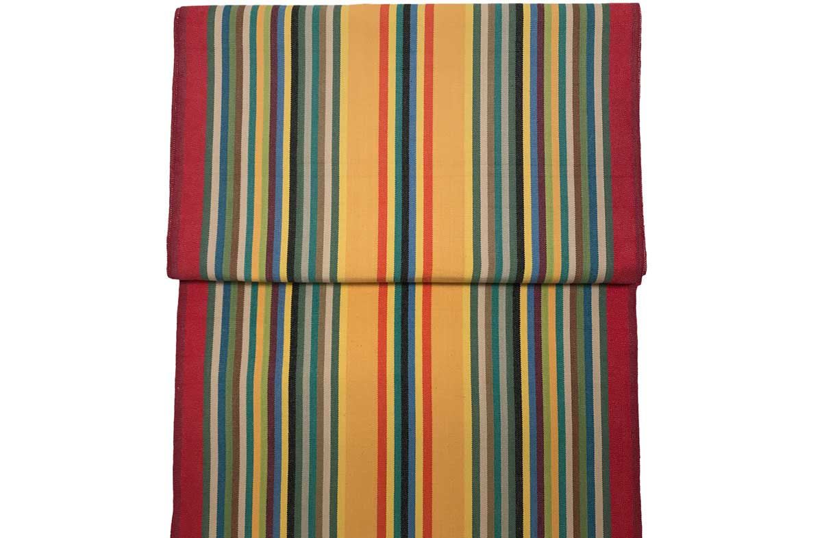 Replacement Director Chair Covers Medley of colours in narrow stripes