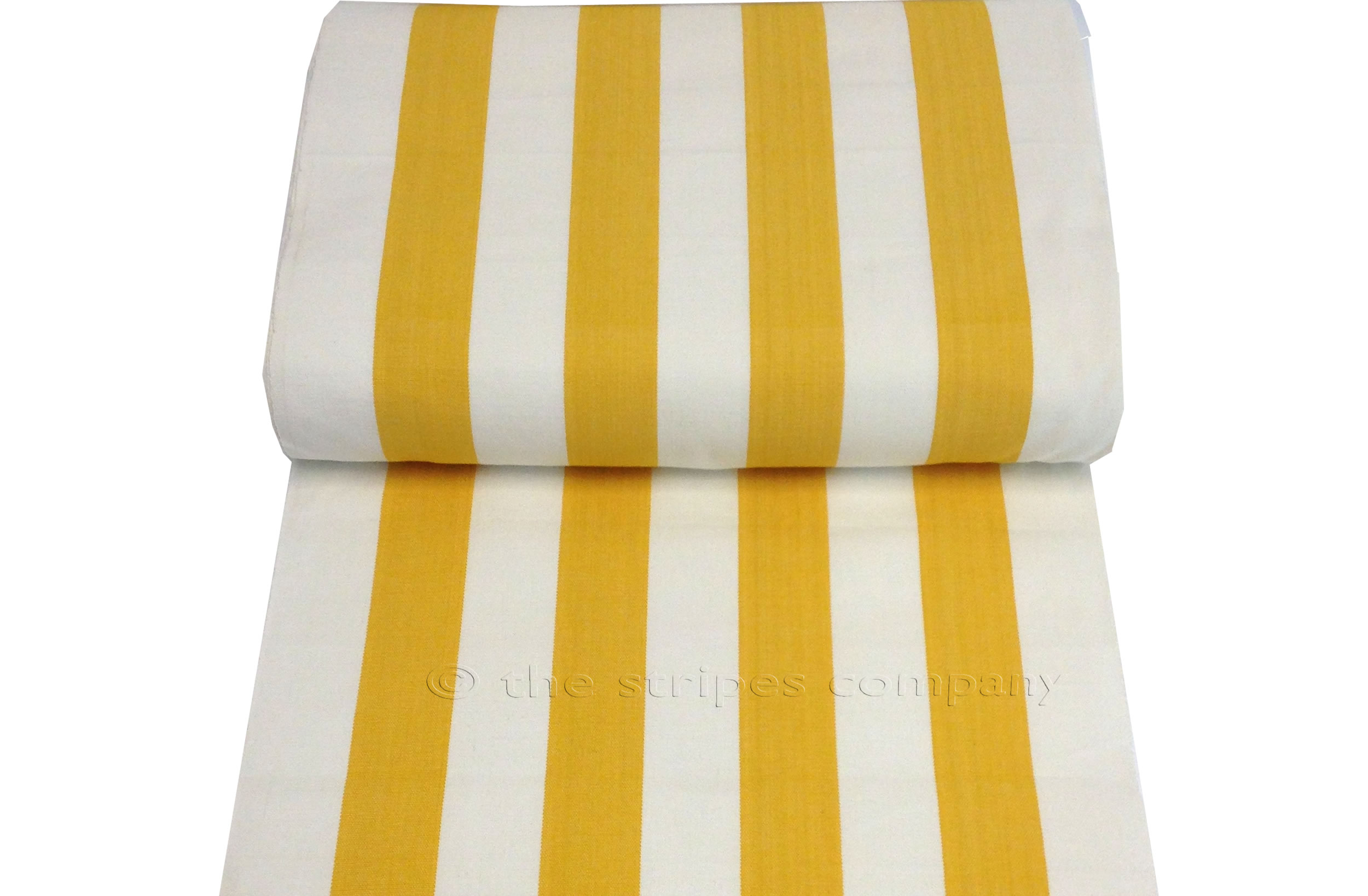 Stripe Tea Towels | Striped Teatowels yellow, white