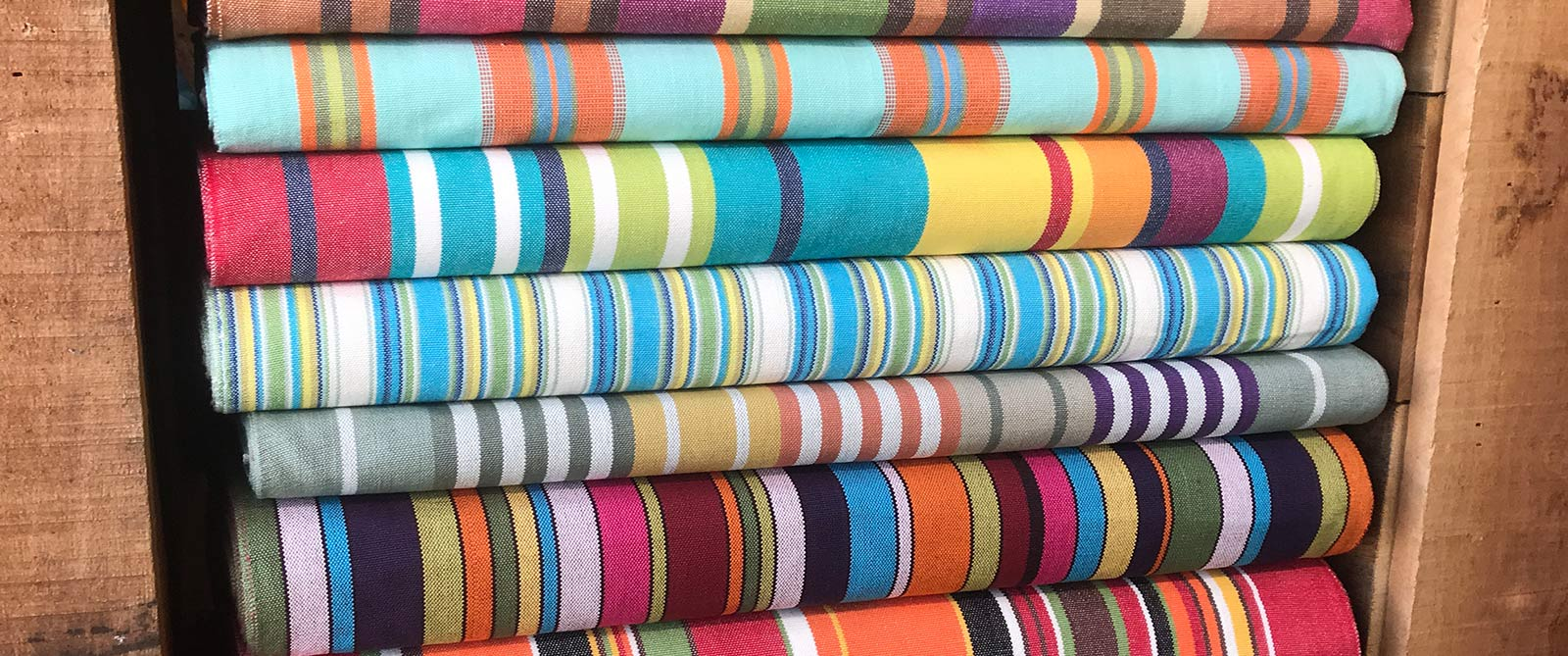 Deckchair Canvas | Deckchair Fabrics | Striped Deck Chair Fabrics
