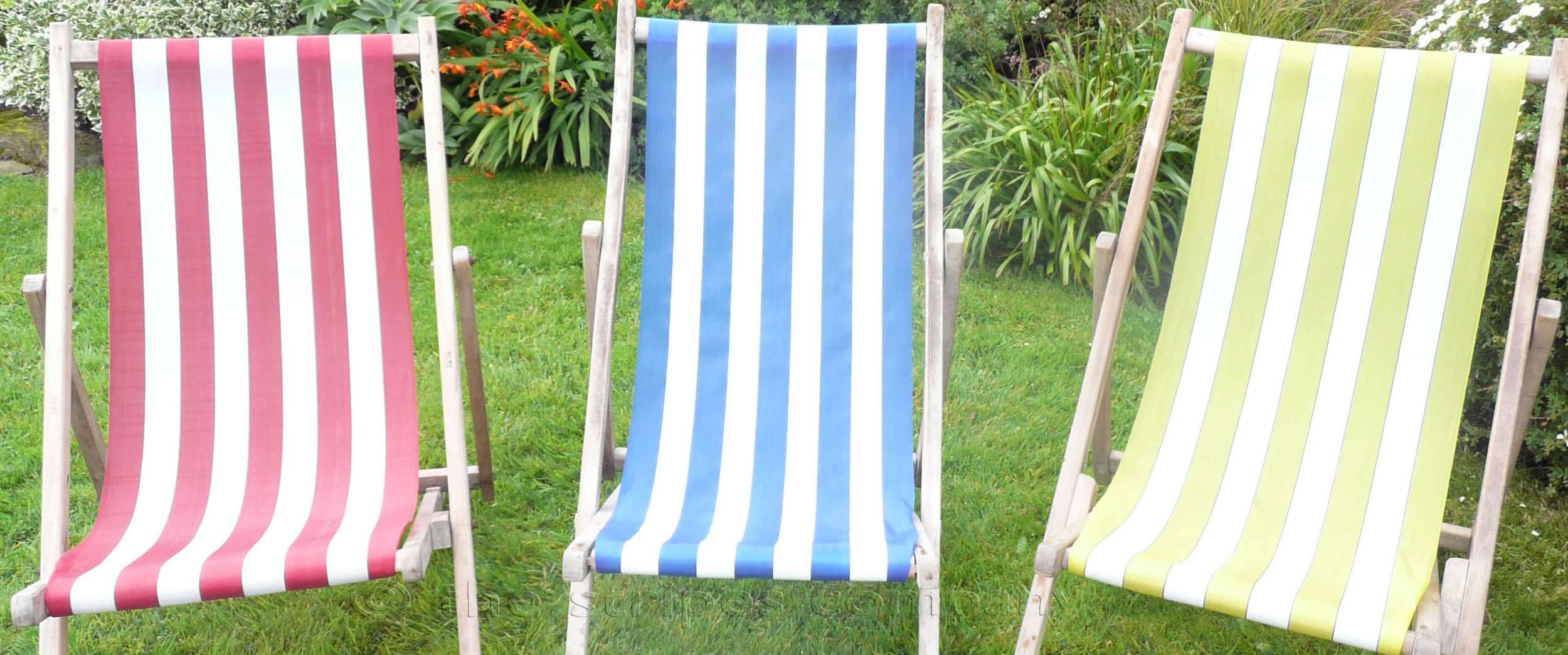 Deckchair Canvas Polyethelene