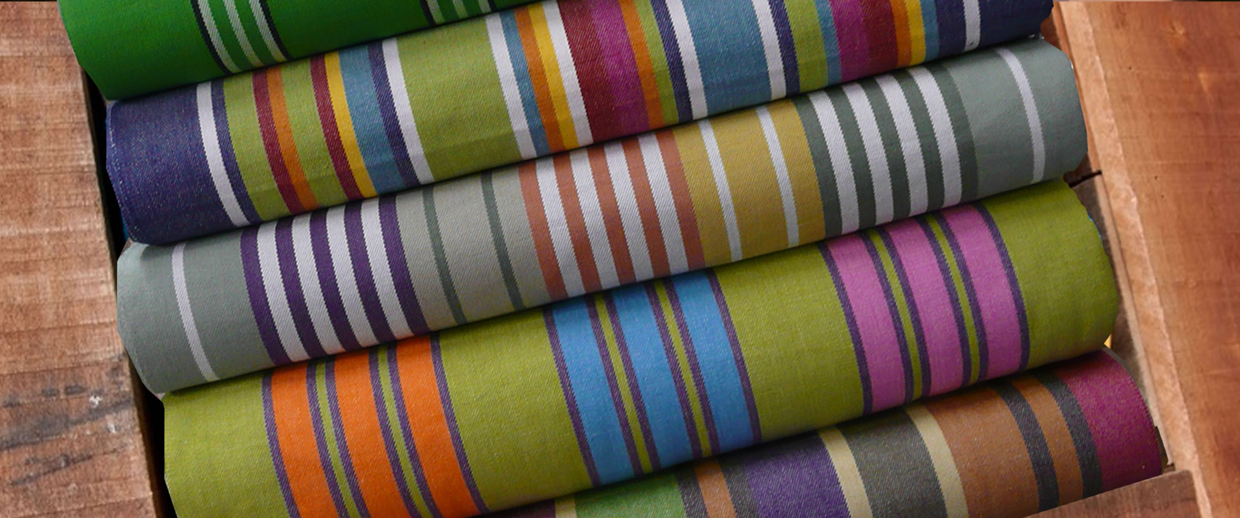 Deckchair Canvas | Striped Deck Chair Fabric - Yoga stripe