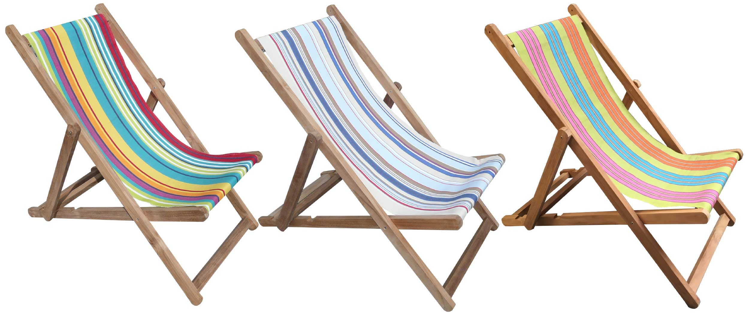 Deckchairs Buy Folding Wooden Deck Chairs The Stripes