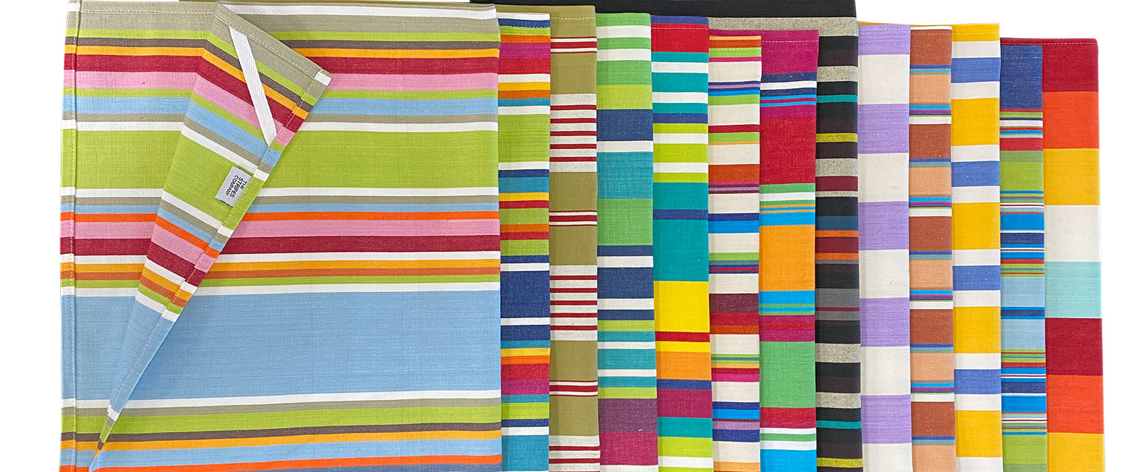 Rainbow Stripe Tea Towels