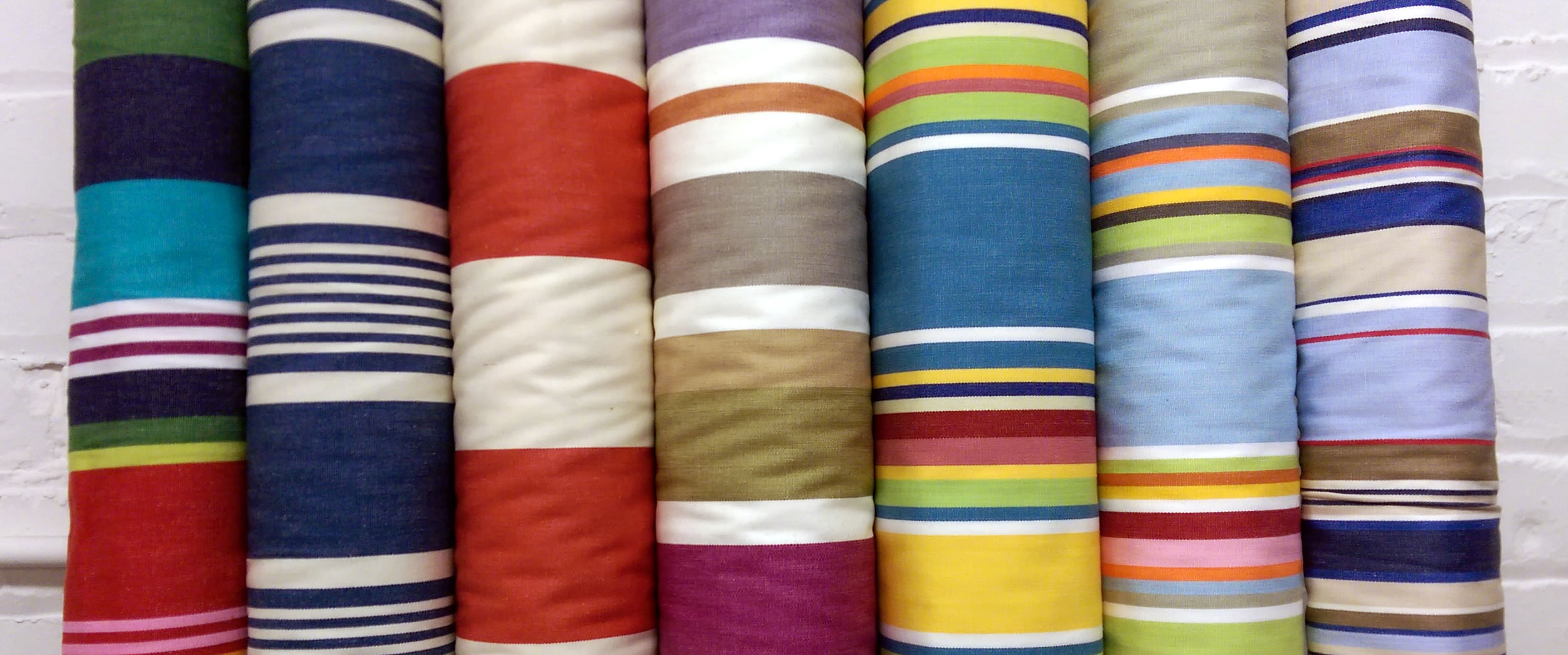Wipe Clean Fabrics | Striped Water Repellent Fabrics