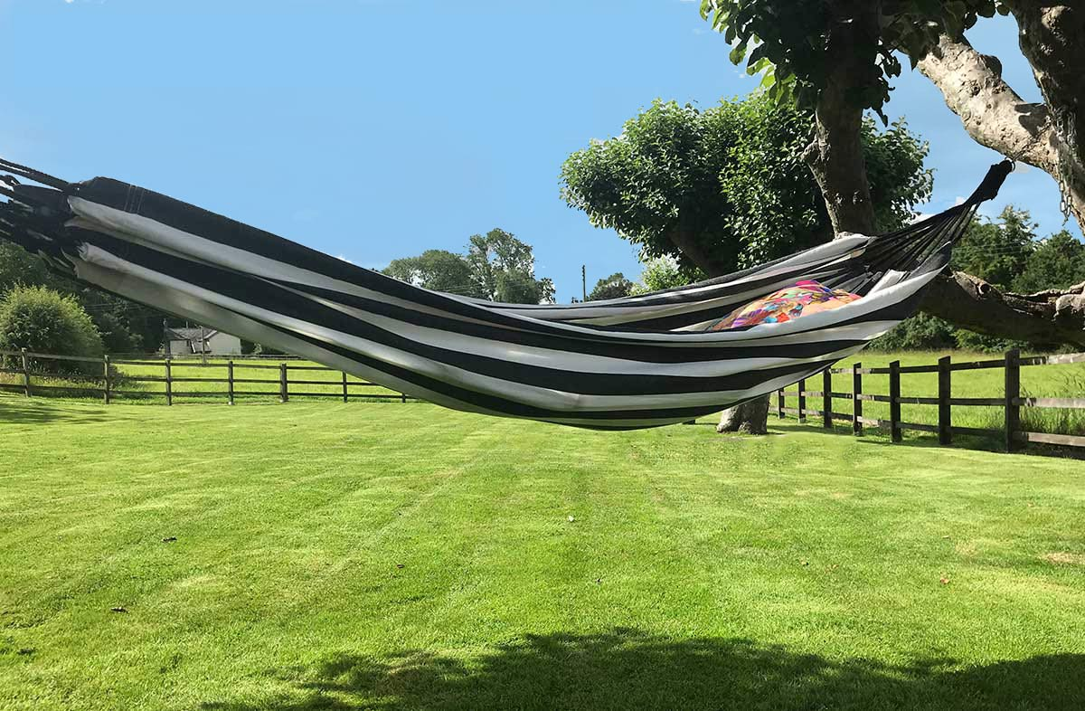 Black and White Stripe Hammocks