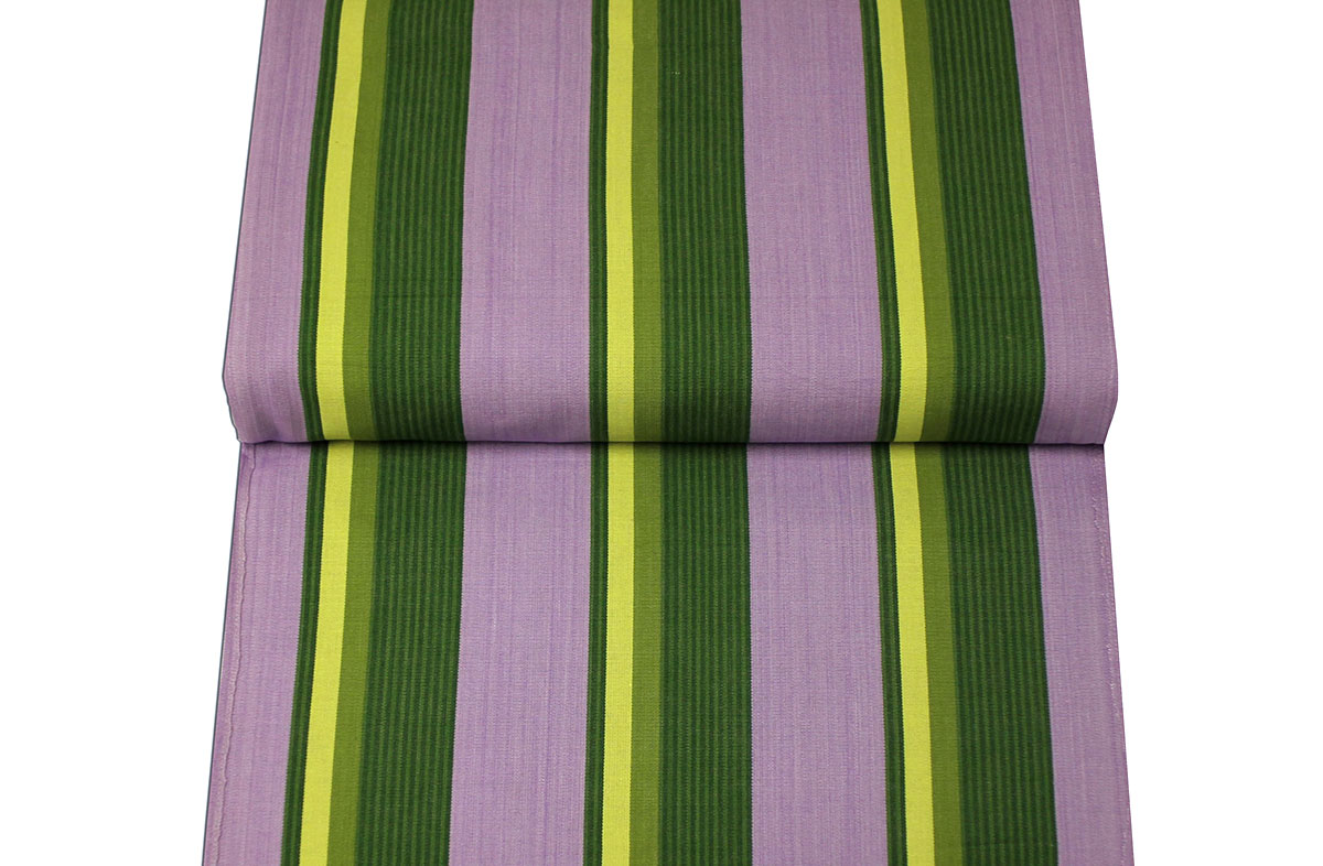 Purple and Green Directors Chair Covers | Replacement Tennis Chair Covers Wimbledon Stripe