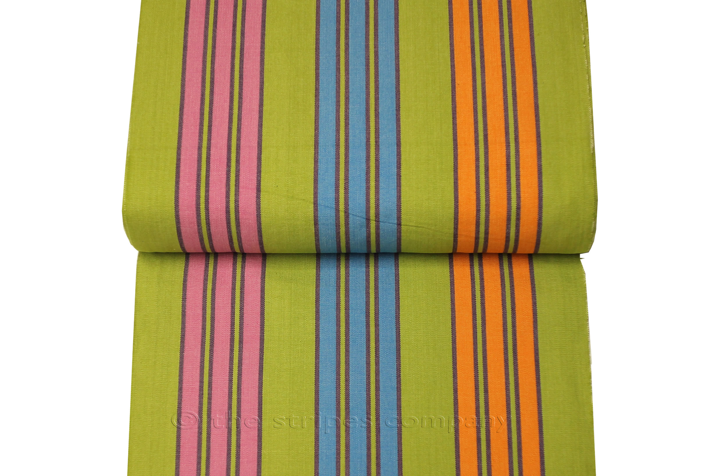 Replacement Directors Chair Covers Green, Turquoise, Pink Stripes