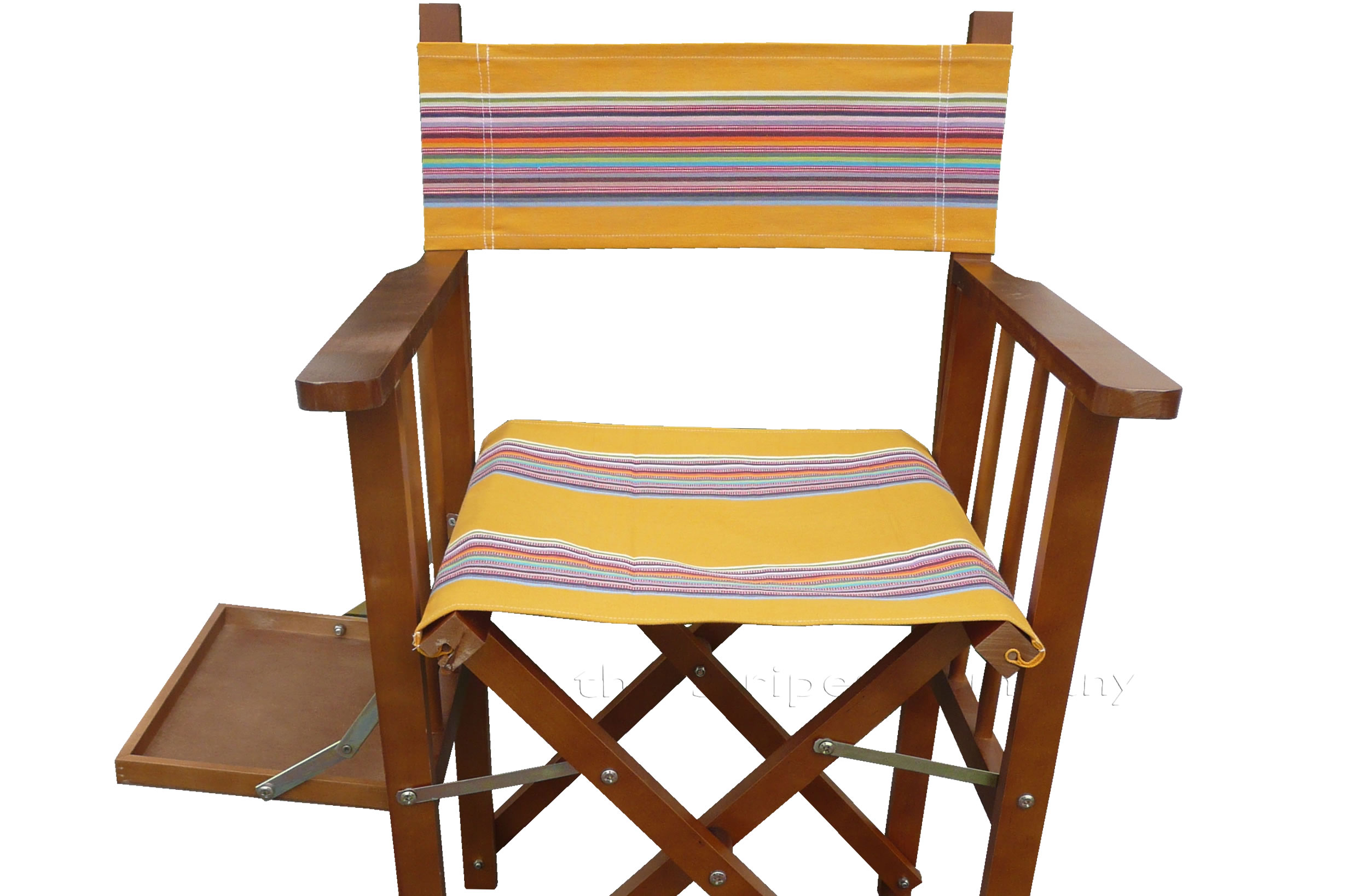 yellow, rainbow- Directors Chair Covers | Replacement Director Chair Covers