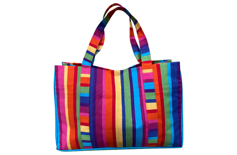 Extra Large Beach Bags multi colour pink green blue
