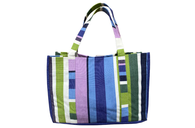 Extra Large Beach Bags Green, blue, purple