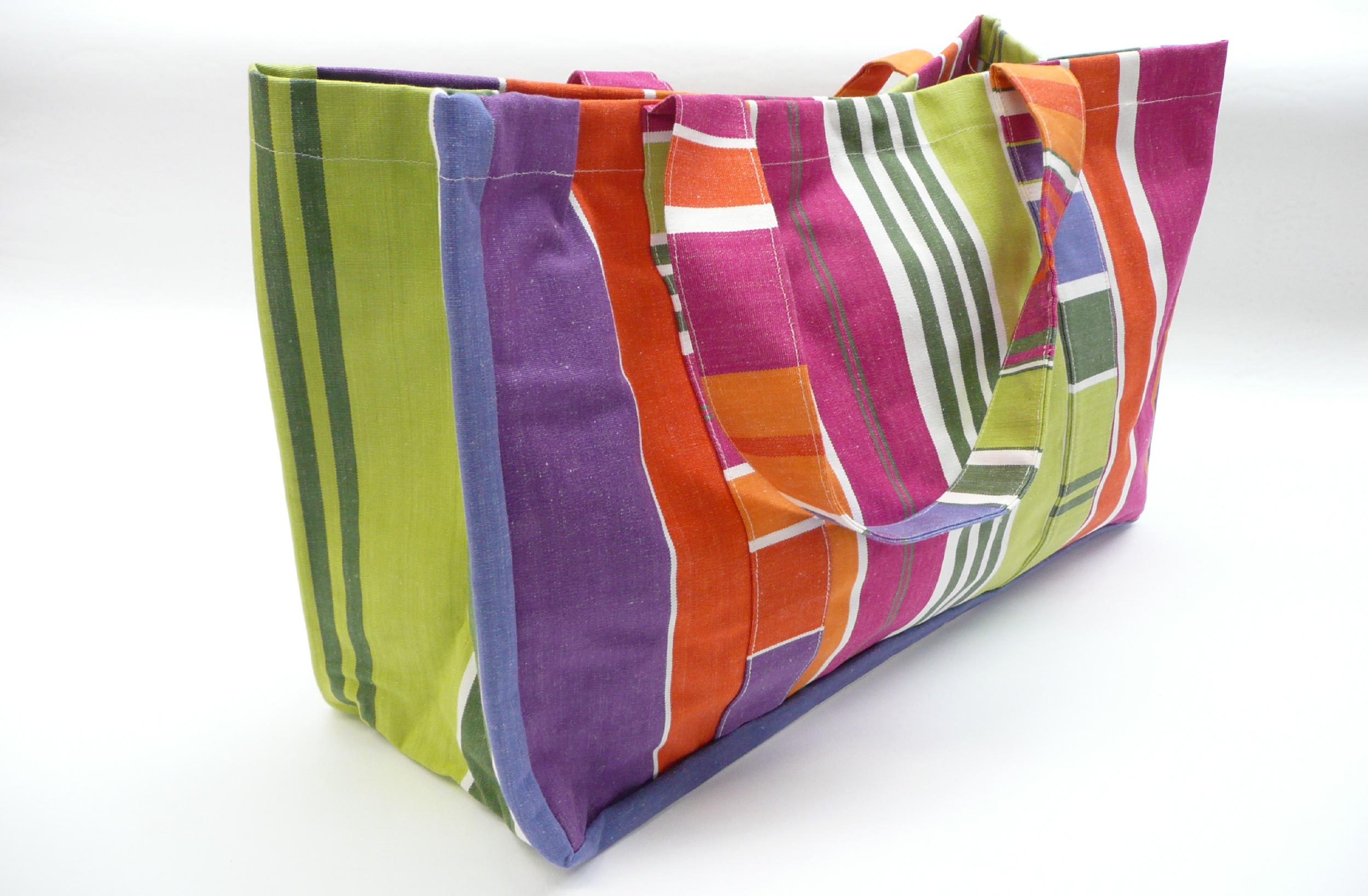 Extra Large Beach Bags pink, blue, green