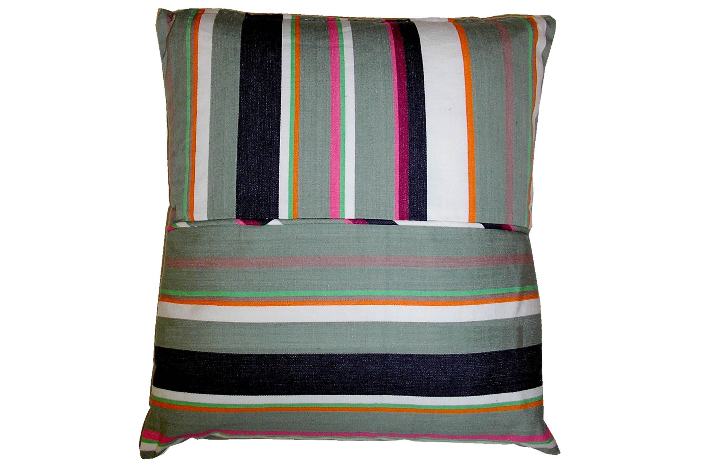 Grey Striped Scatter Cushions