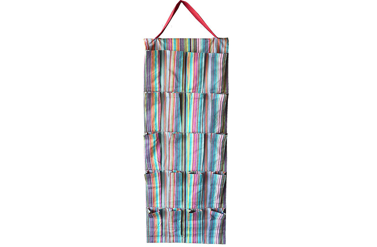 Hanging Storage Organiser - Mahjong Stripes