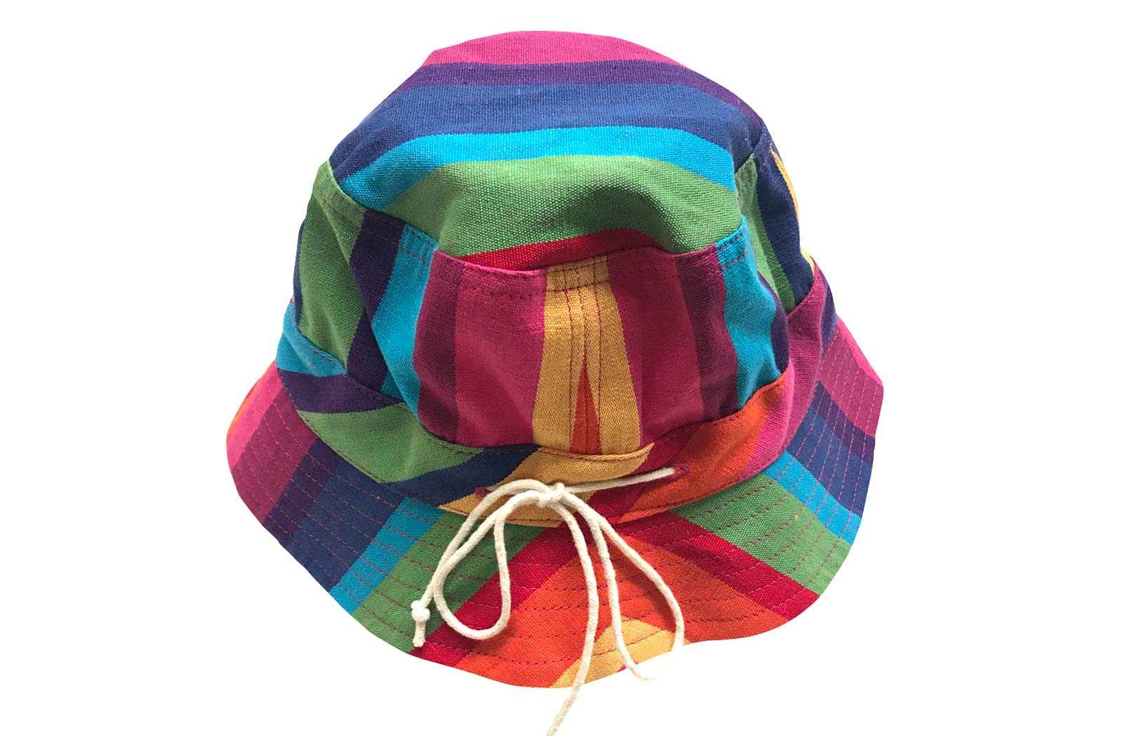 Multicolour Kids Striped Sun Hats | Bucket Hats for Kids