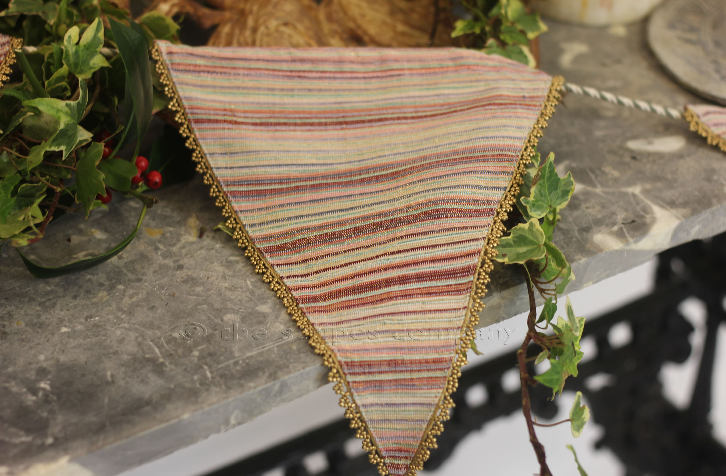Luxury Beaded Bunting for Weddings - 5 Packs