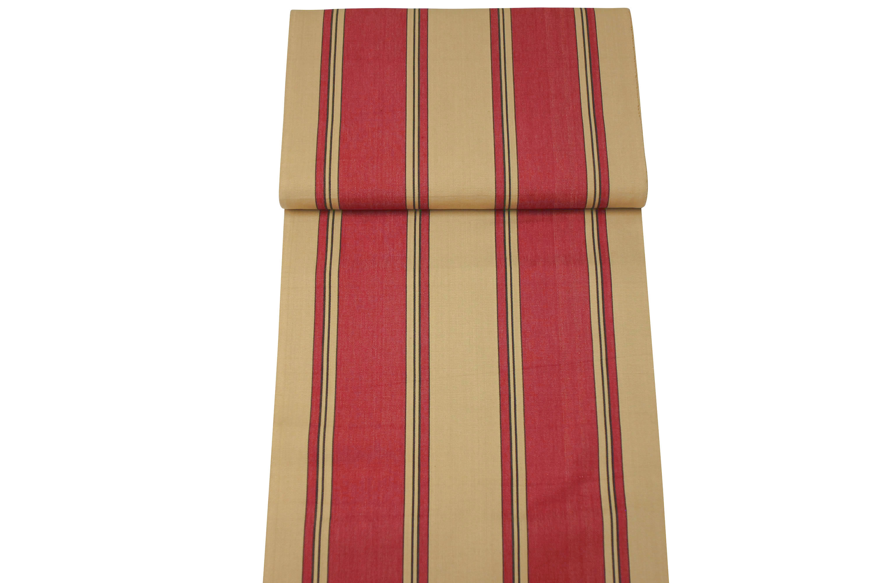 Red and Beige Stripe Directors Chair Covers