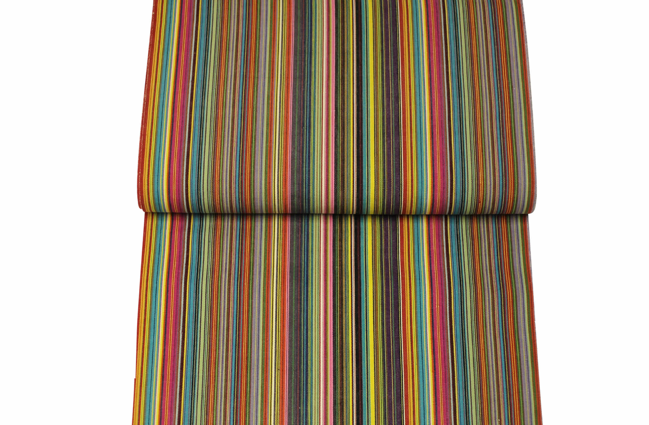 Thin rainbow multi stripes Replacement Deck Chair Sling - Mahjong