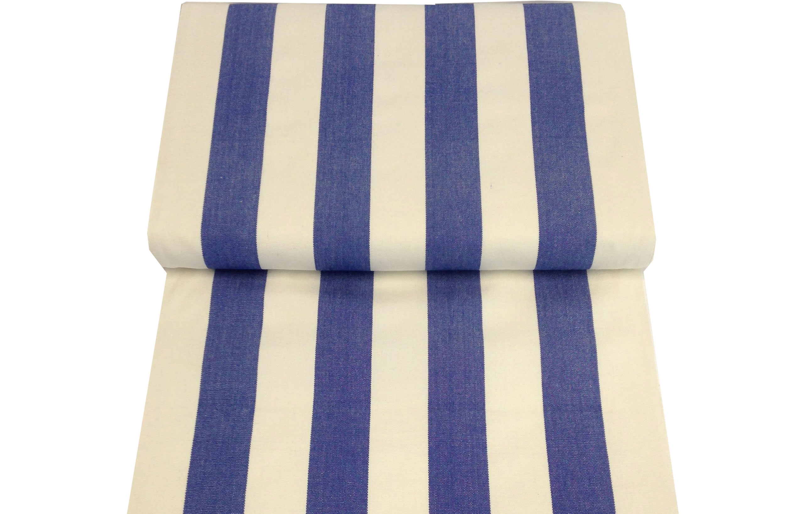 Blue, white Replacement Deck Chair Sling - Soccer