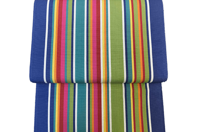 Blue Green Red Striped Directors Chair Covers | Climbing