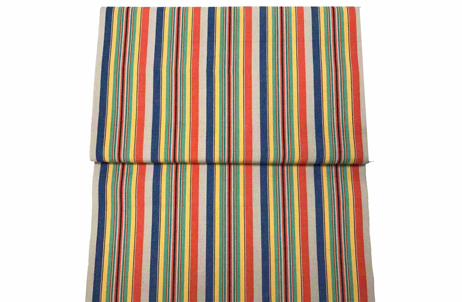 Solitaire Vintage Deckchair Fabric The Stripes Company