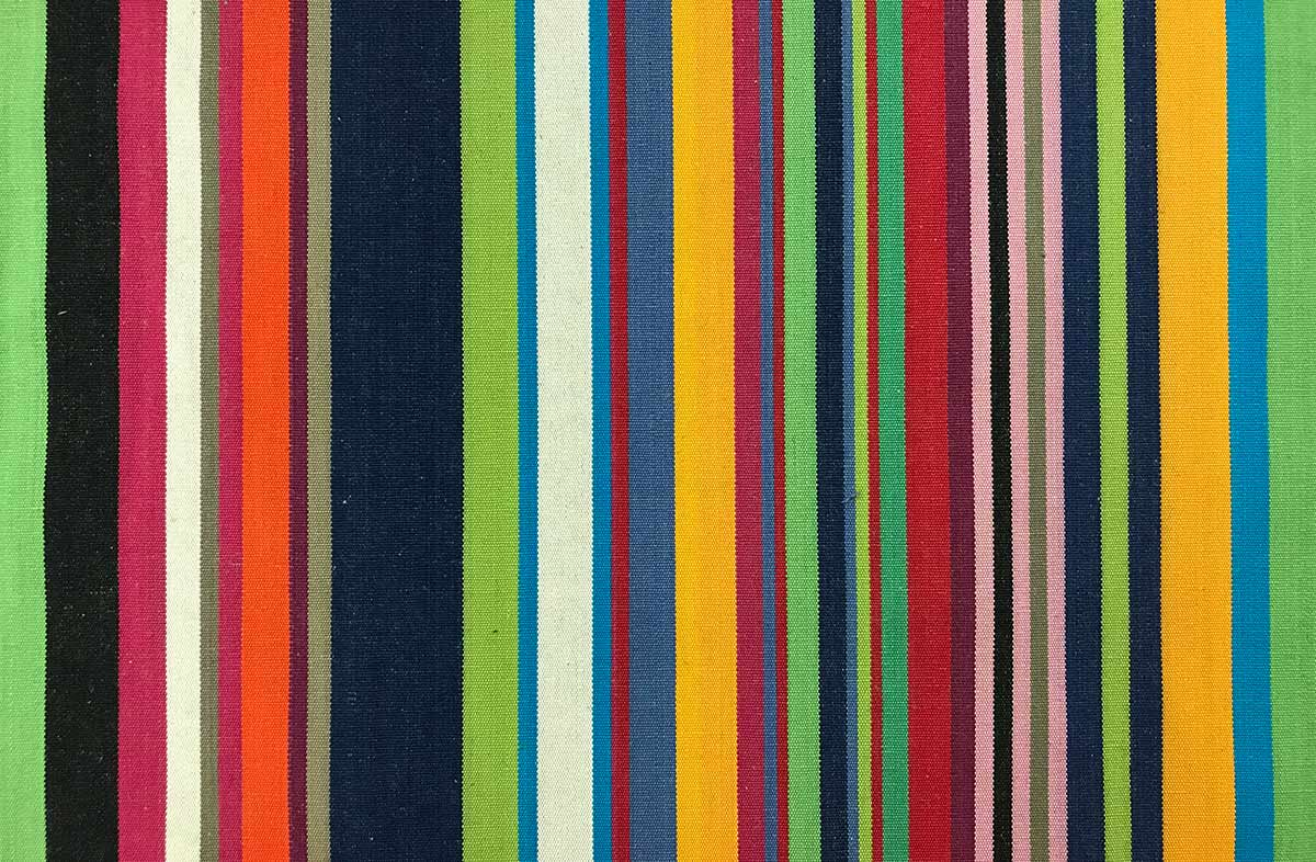 blue, green, pink - Striped Fabrics | Stripe Cotton Fabrics | Striped Curtain Fabrics | Upholstery Fabrics