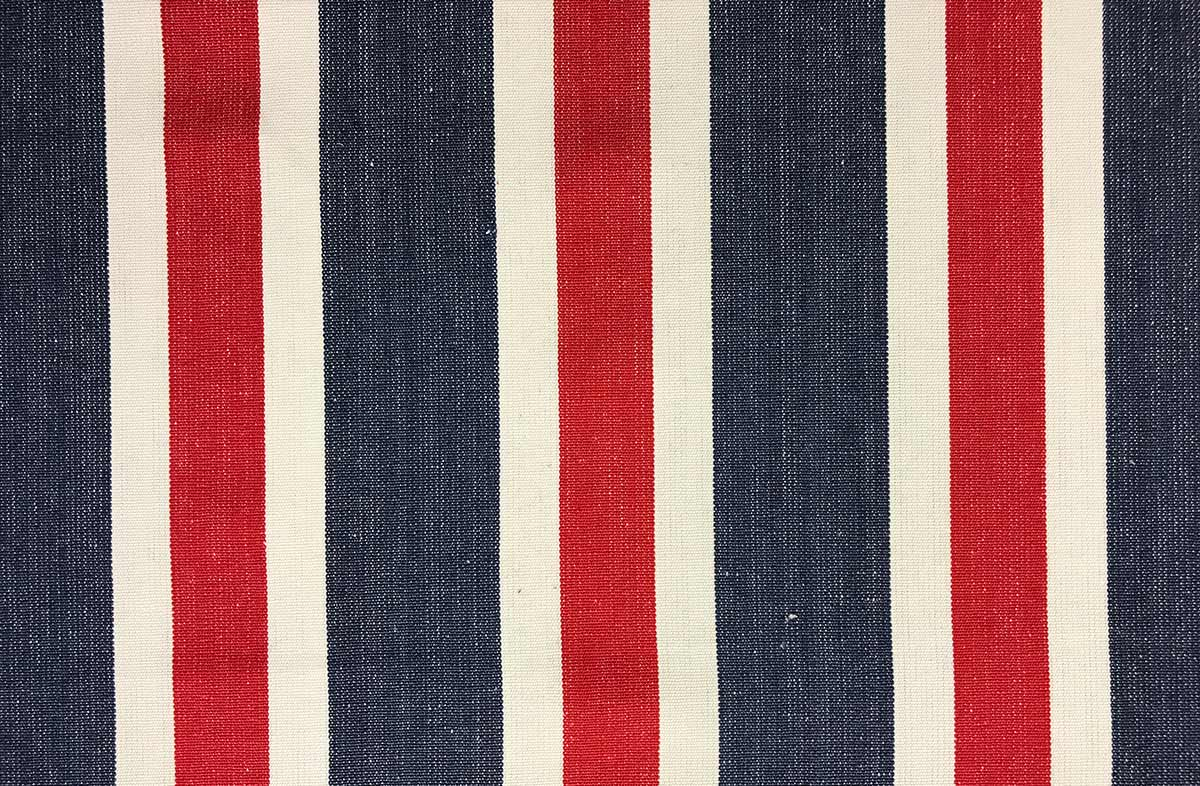 Blue Red And White Striped Fabric The Stripes Company Australia