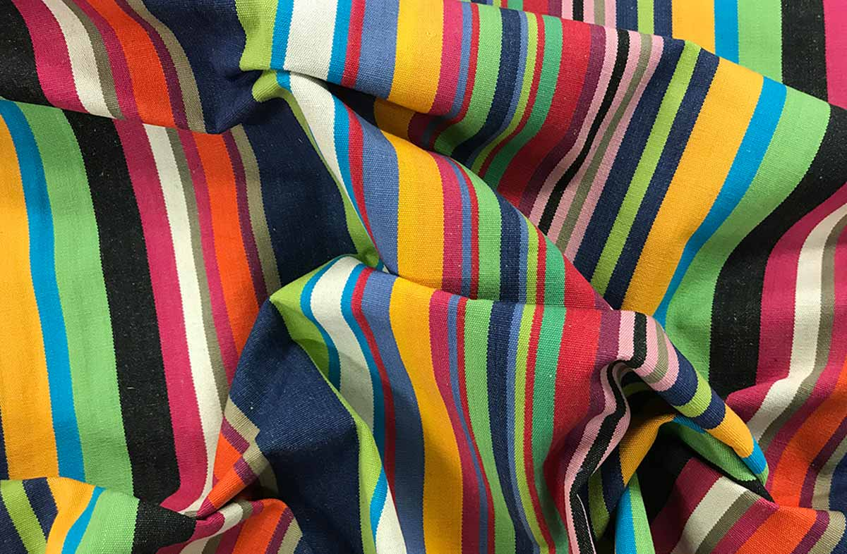Multi Striped Fabric - Gliding Stripe