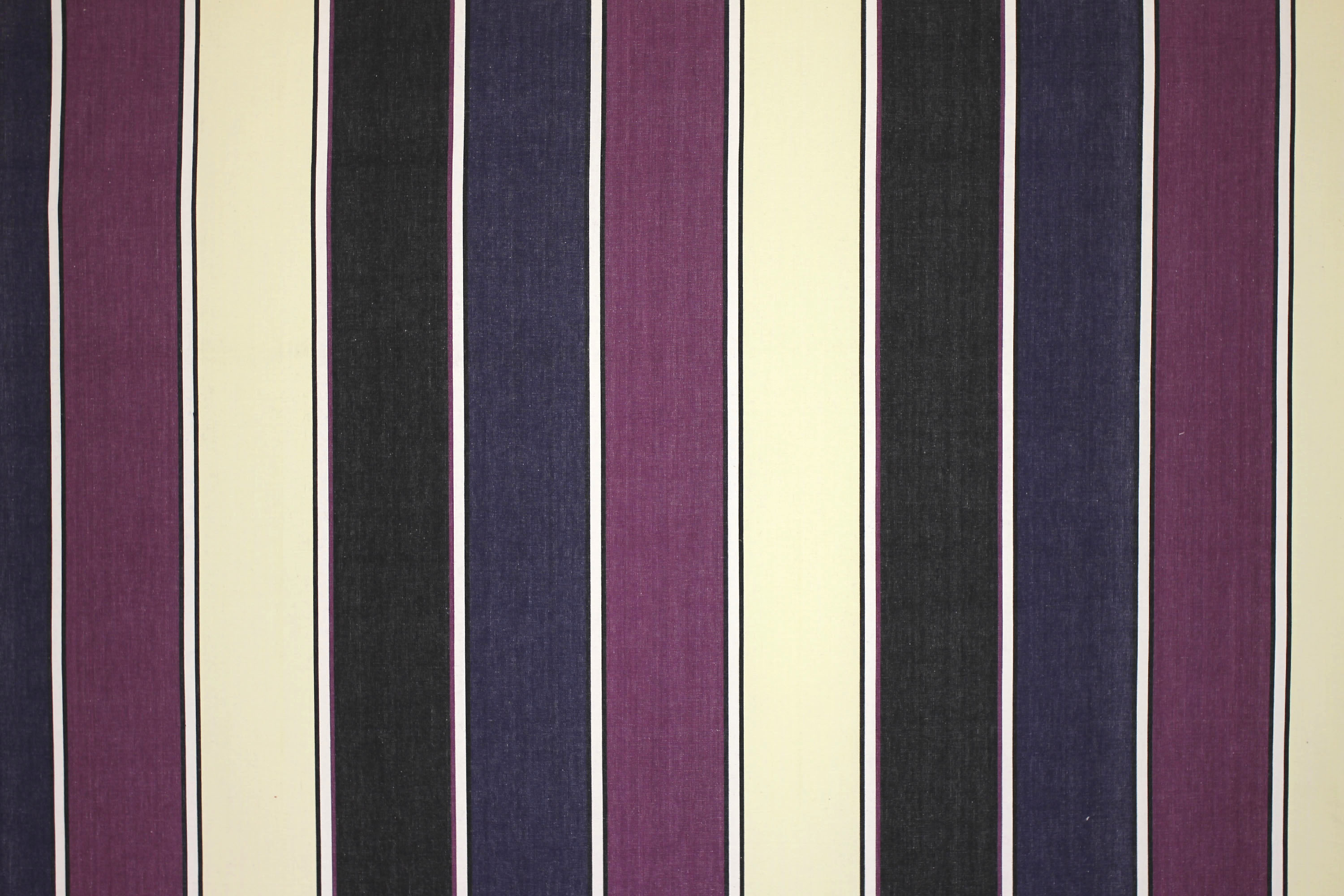 Black Striped Fabrics | Stripe Cotton Curtain Fabrics