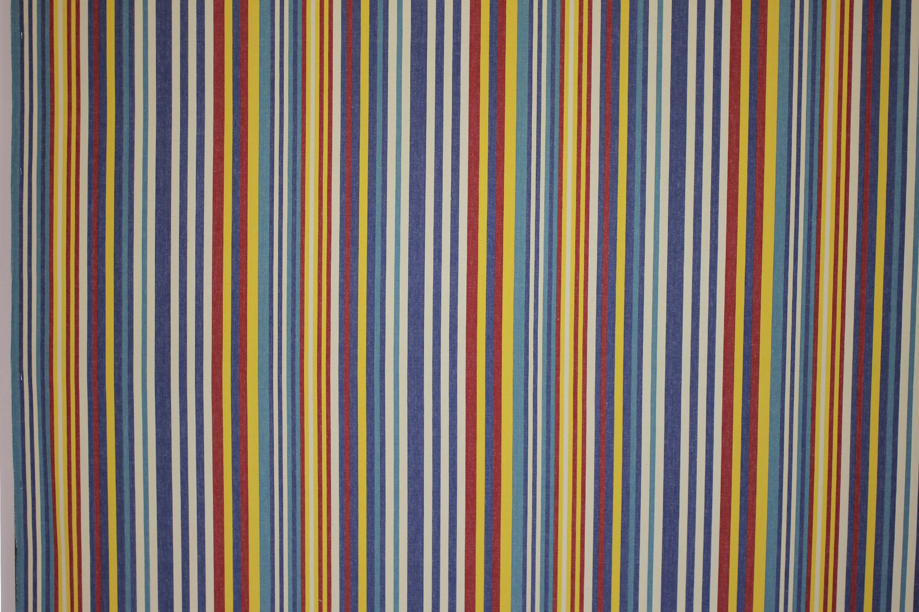 Denim Blue Striped Fabrics | Stripe Cotton Fabrics | Striped Curtain Fabrics | Upholstery Fabrics  Marathon Stripes