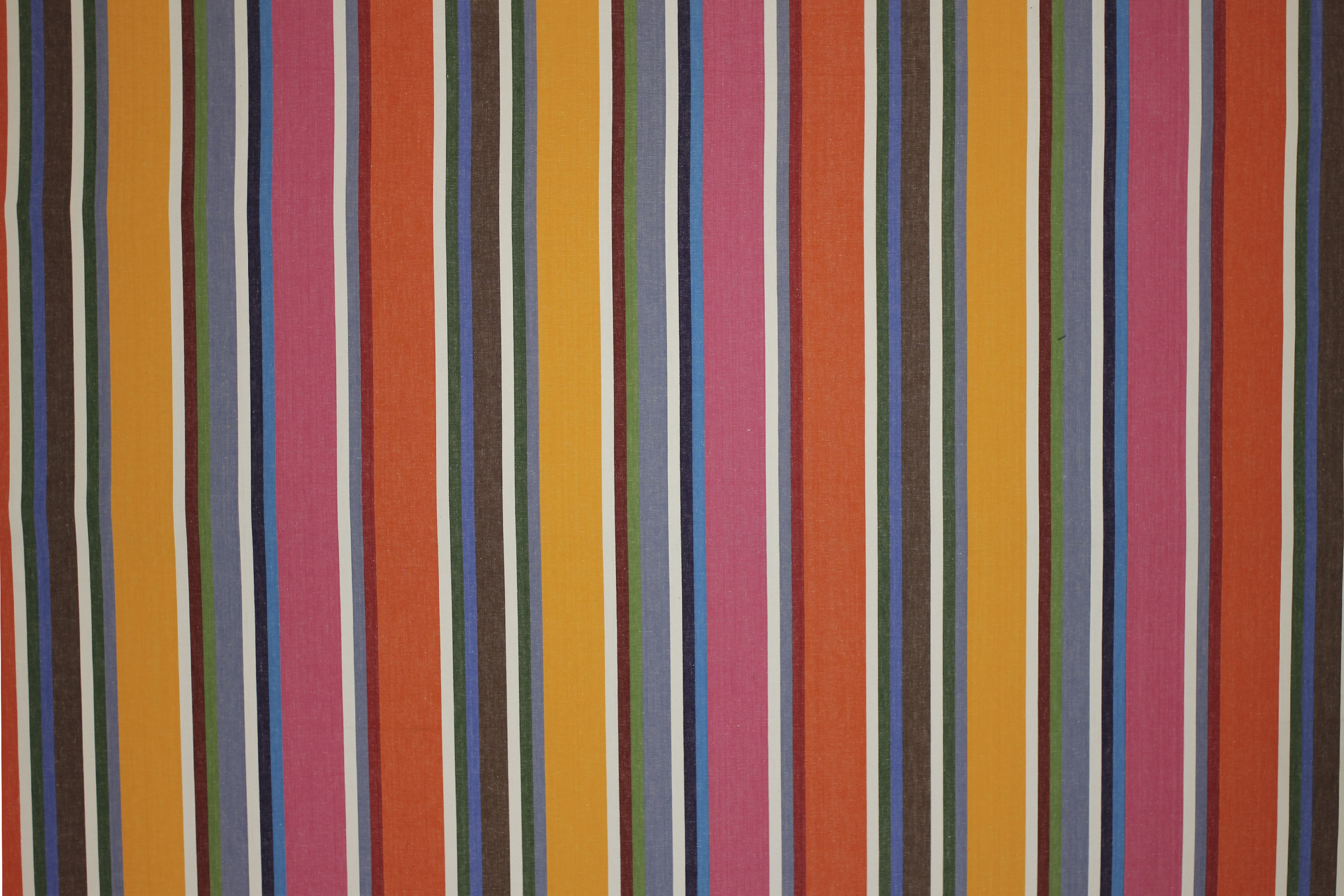 Pink Pentathlon Striped Fabric