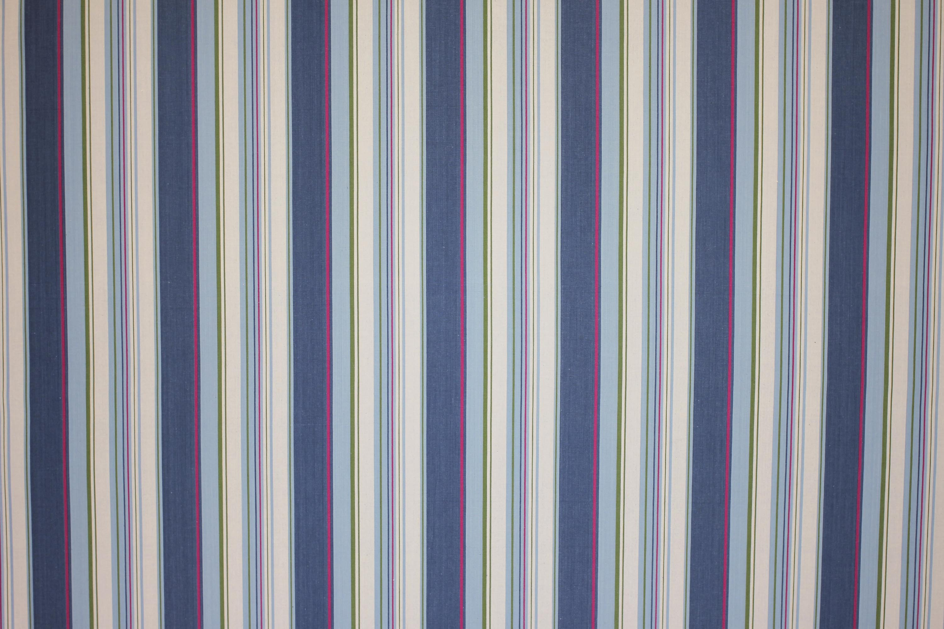 Petrol Blue Striped Fabrics | Stripe Cotton Fabrics | Striped Curtain Fabrics | Upholstery Fabrics  Petrol Blue  Pale Blue  Cream  Stripes