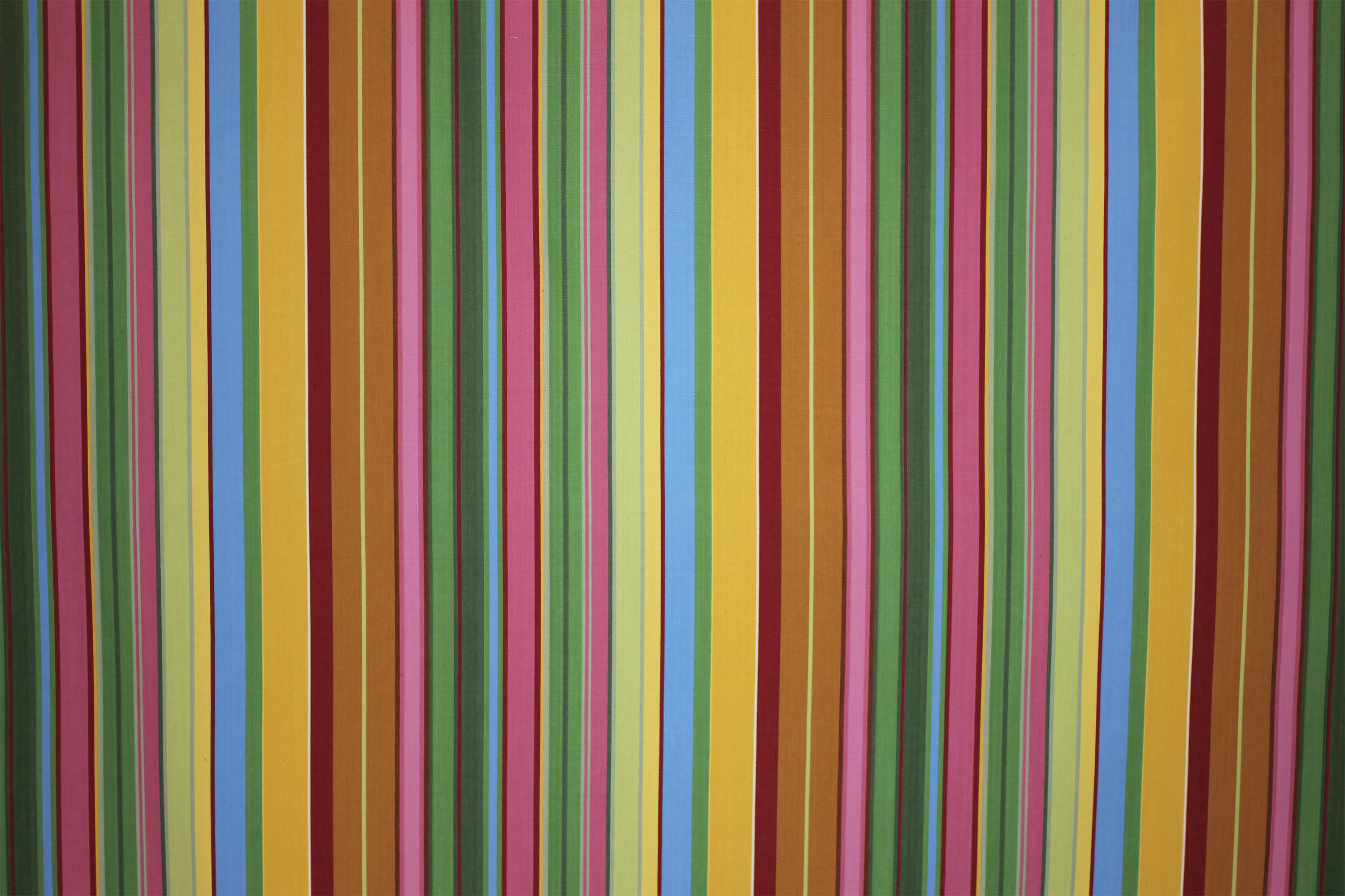 Snooker Pink and Green Striped Fabric