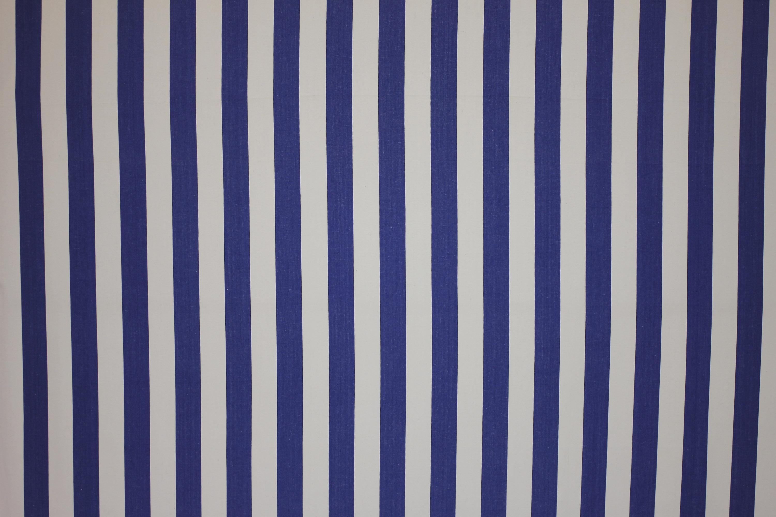 Soccer Blue And White Striped Fabric The Stripes Company