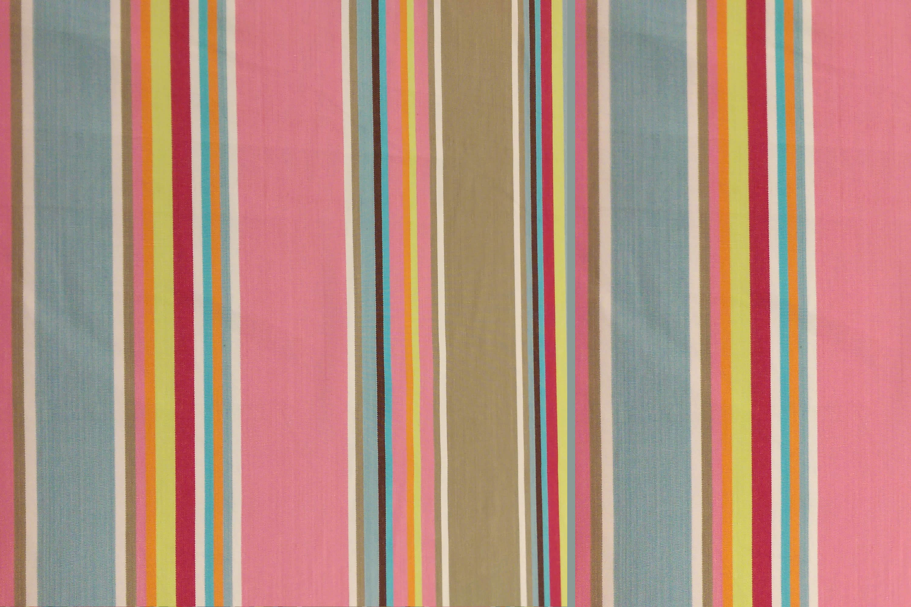 Squash Pink Striped Fabric