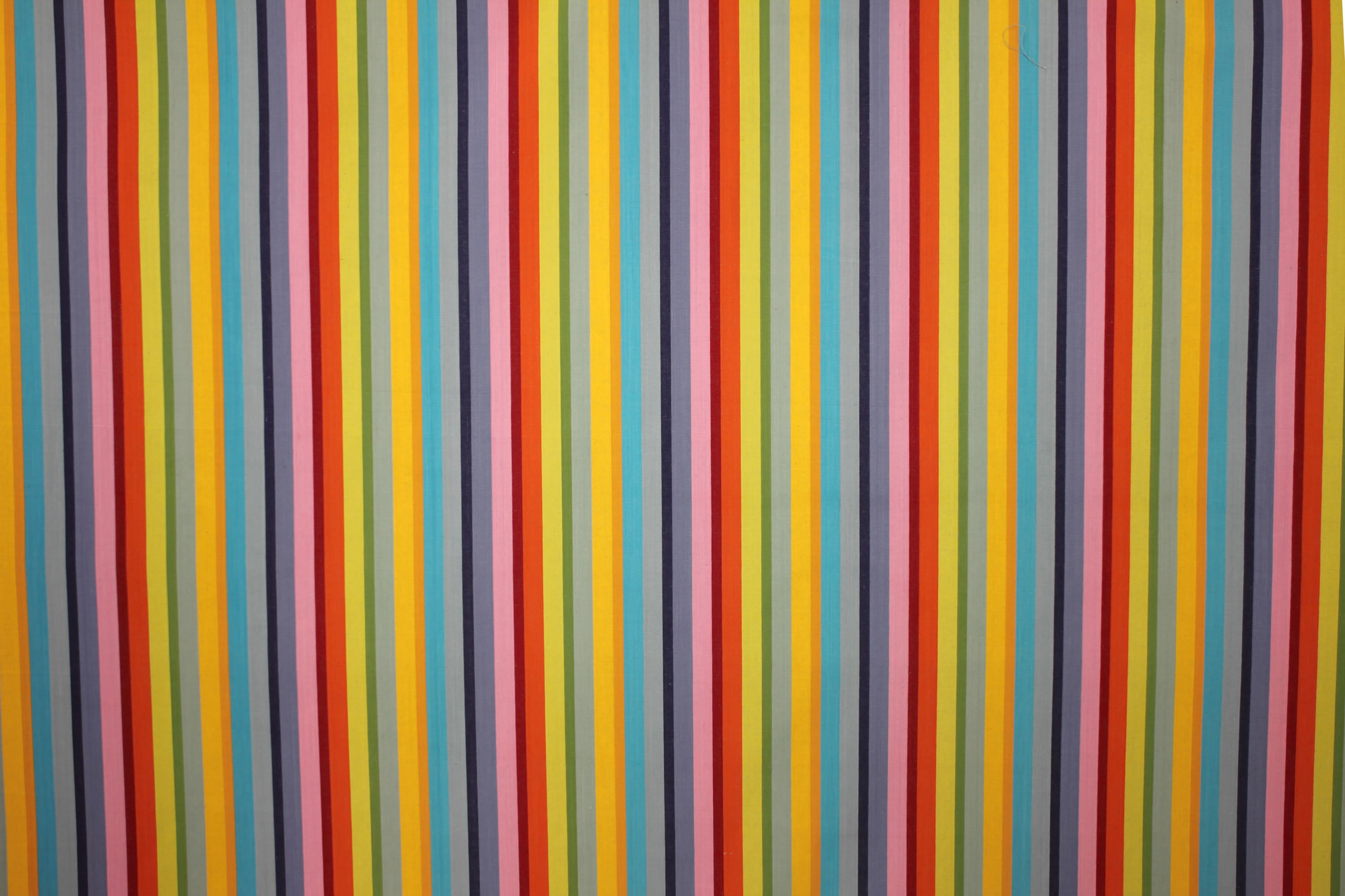 Tango Rainbow Striped Fabric