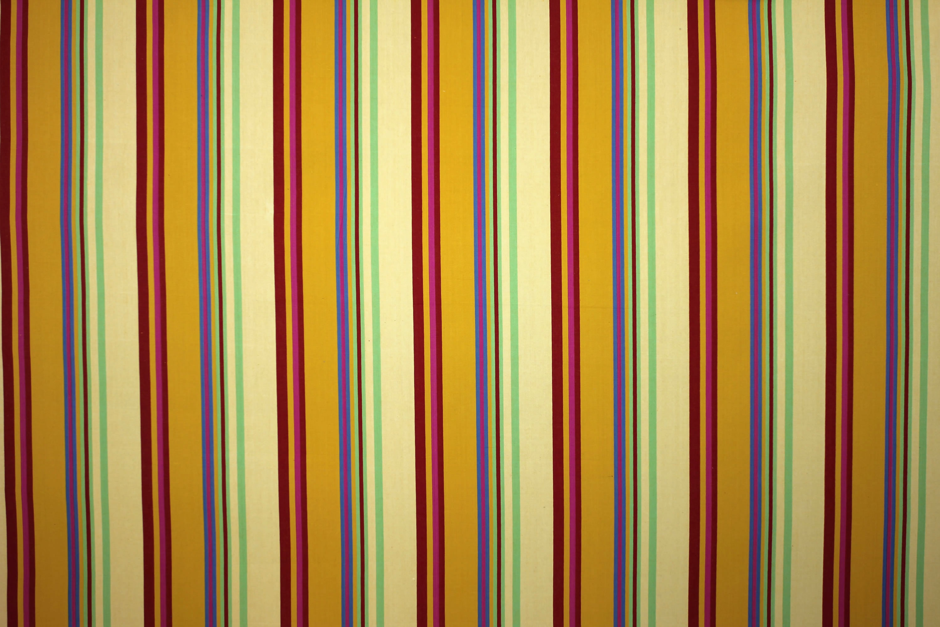 Volleyball Pale Yellow Striped Fabric The Stripes Company Australia