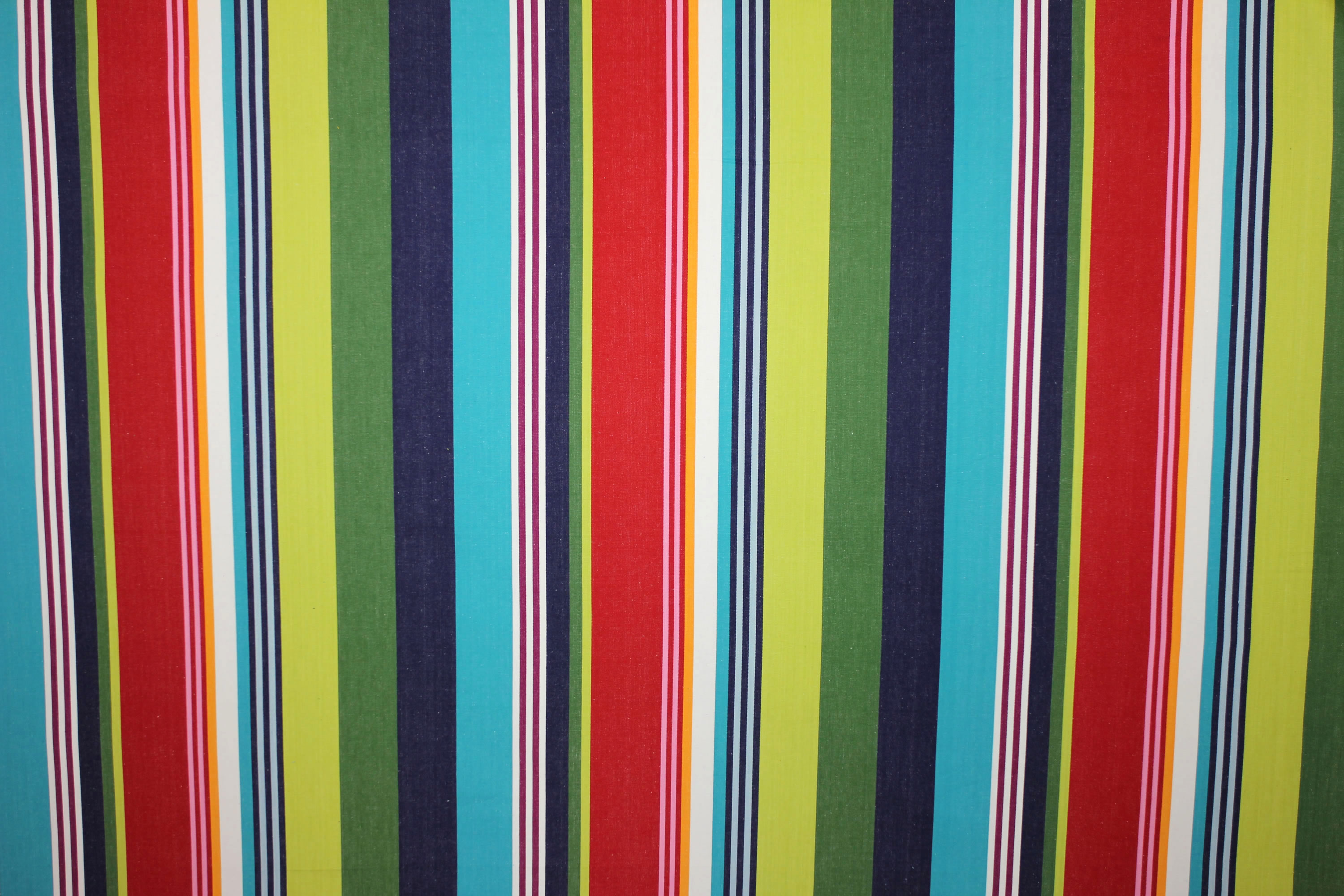 Green Wakeboarding Striped Fabric