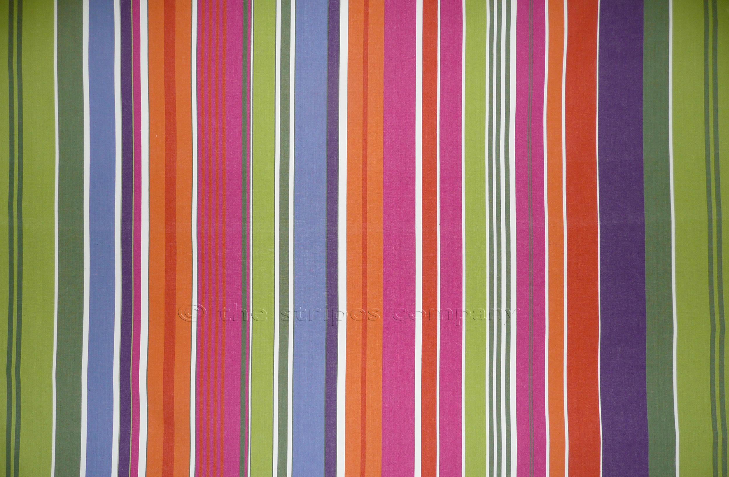 Pink Striped Oilcloth Fabrics | Wipeable Stripe Fabrics - Weightlifting Stripe