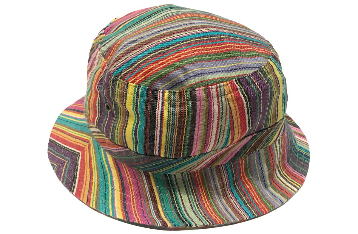 Multicolour Striped Hats | Sun Hat with multicolour stripes