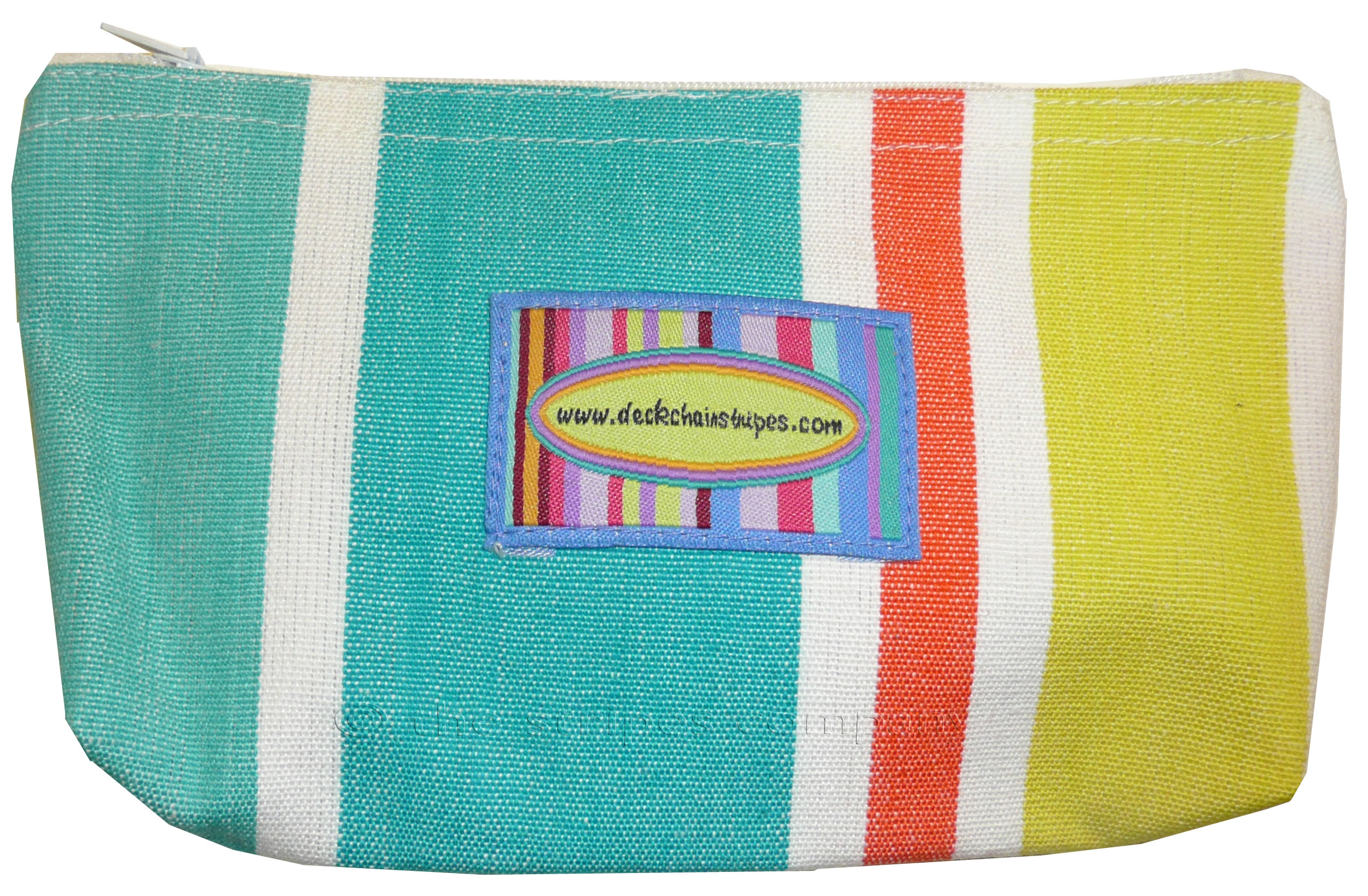Blue Striped Purses | Small Zipped Bags | Cosmetic Bags Sudoku Stripes