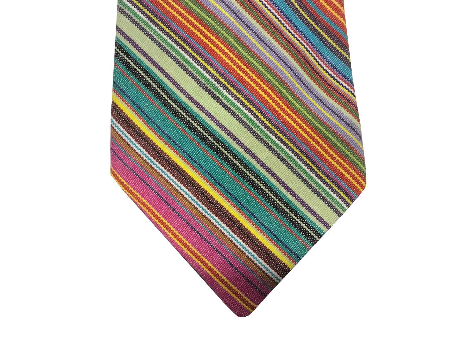 Multi Stripe Tie from the Stripes Company