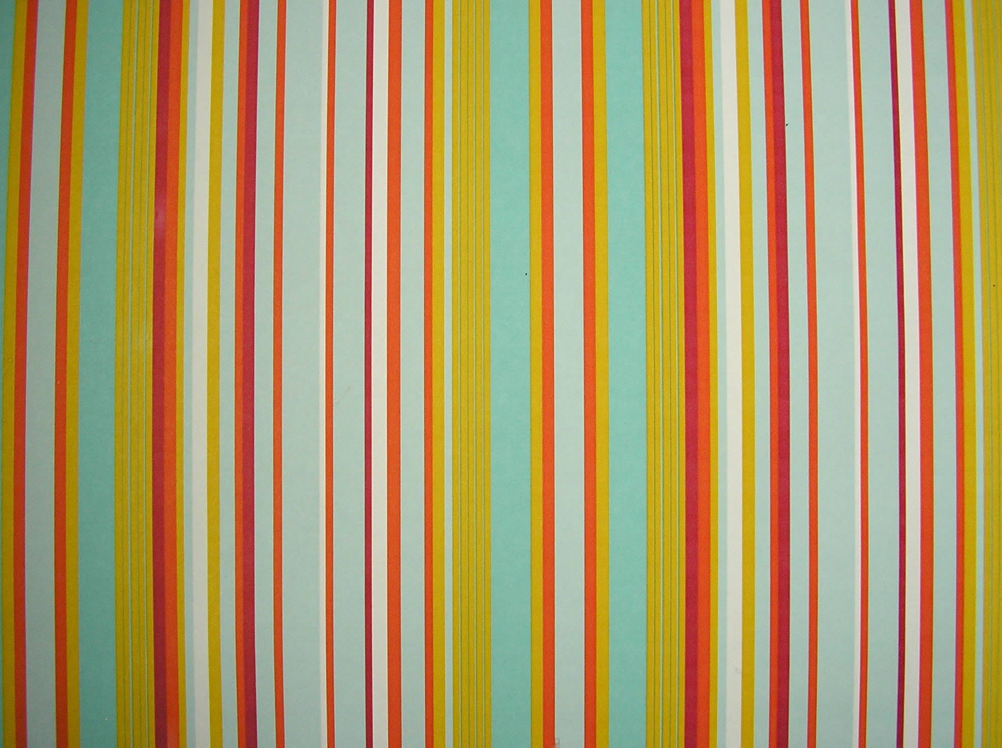 Multicolour Striped Wallpaper