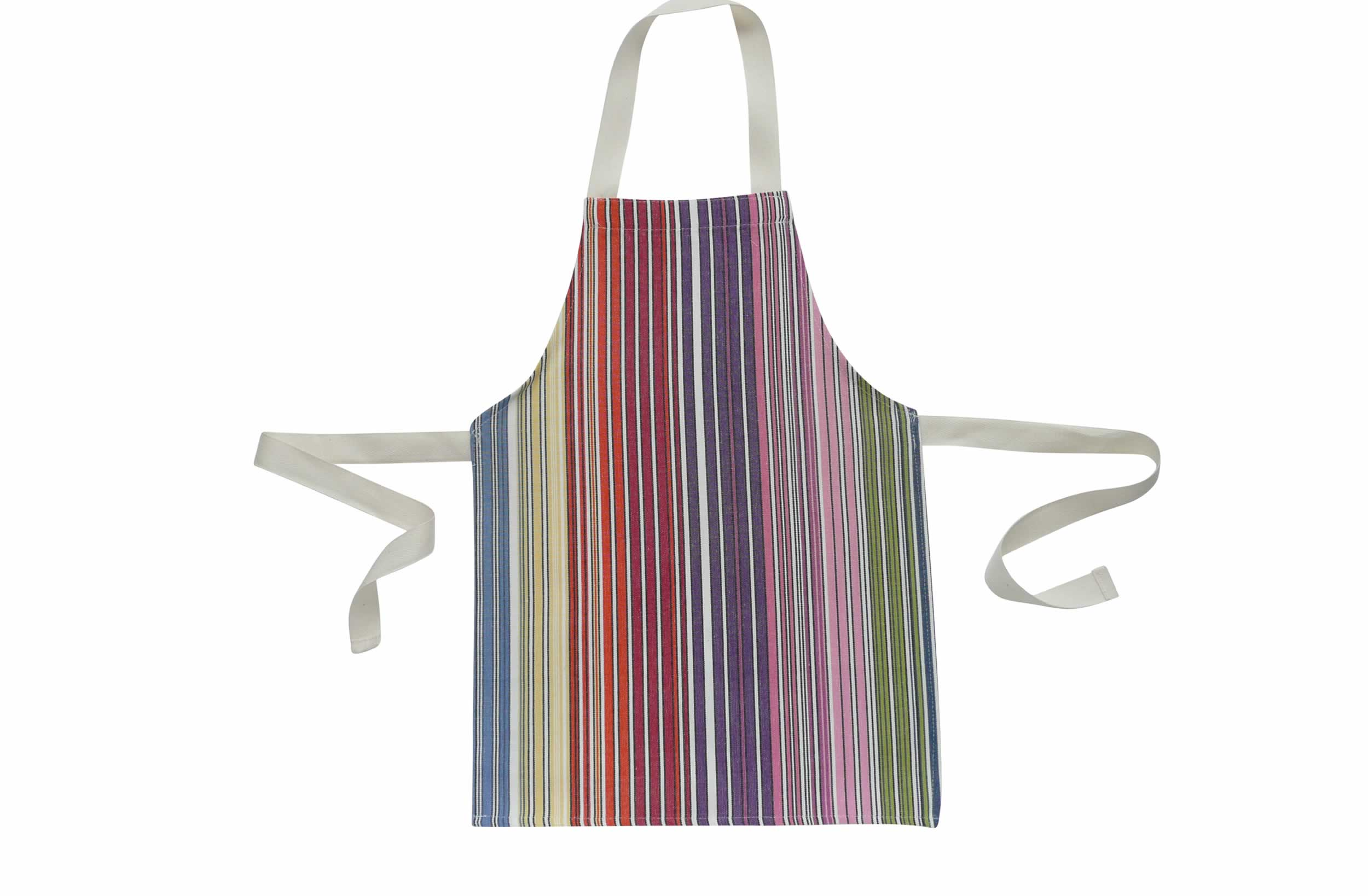Multi Stripe Toddler Apron