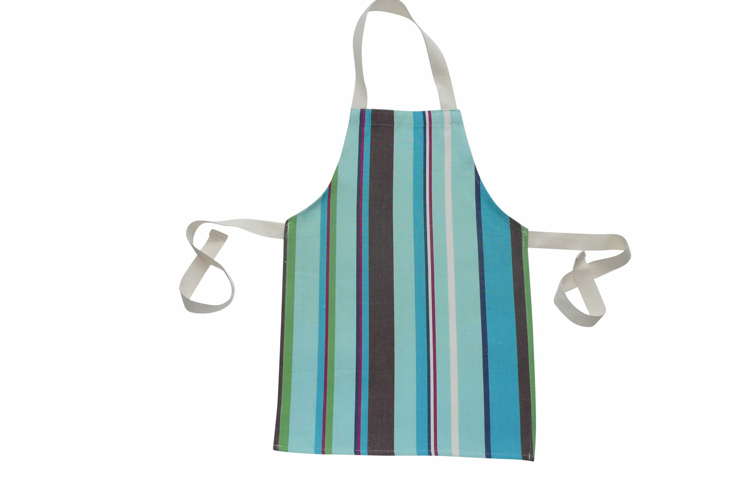Turquoise Toddler Apron