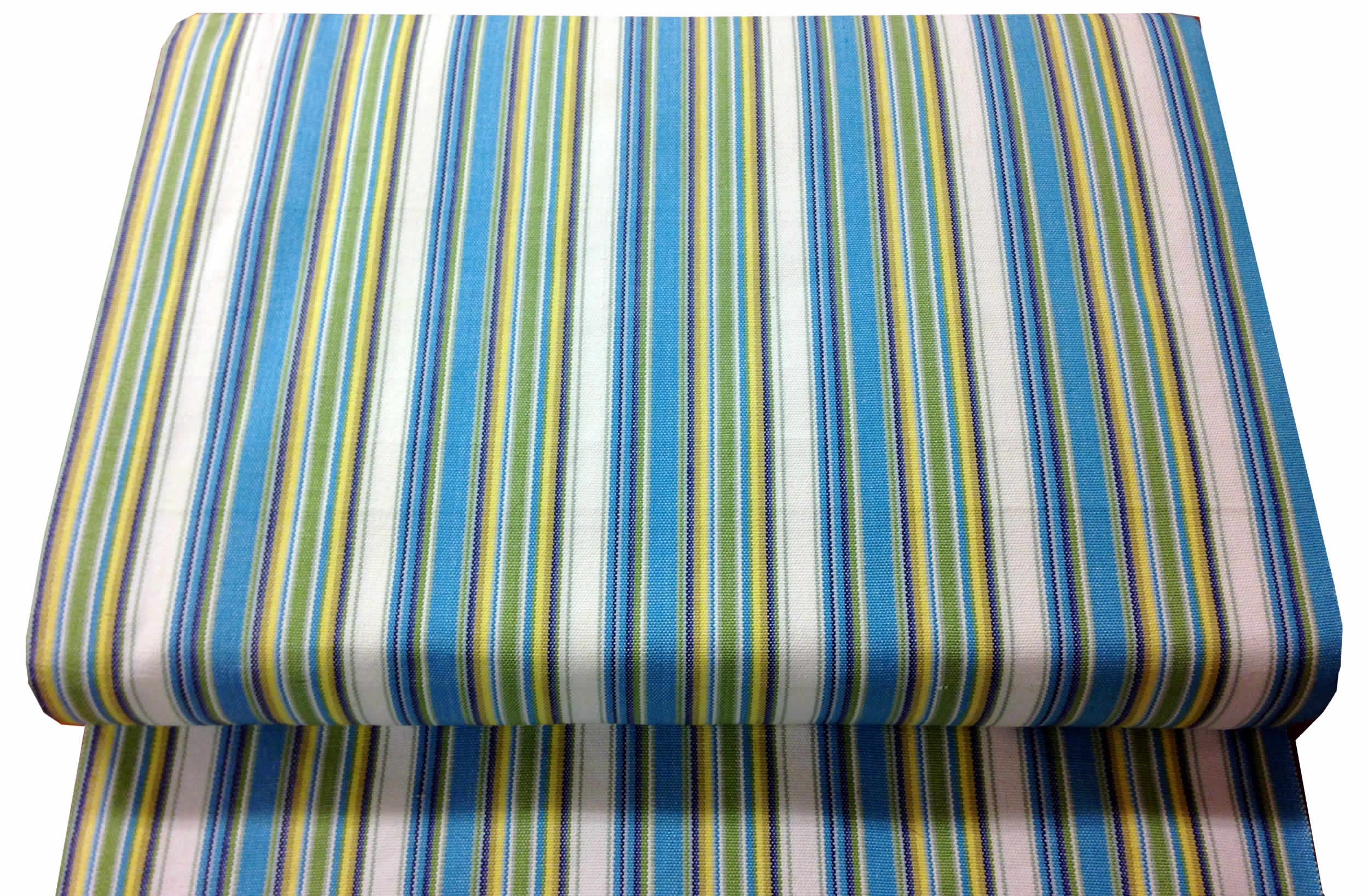 turquoise, green, white- Deckchair Canvas | Deckchair Fabrics | Striped Deck Chair Fabrics