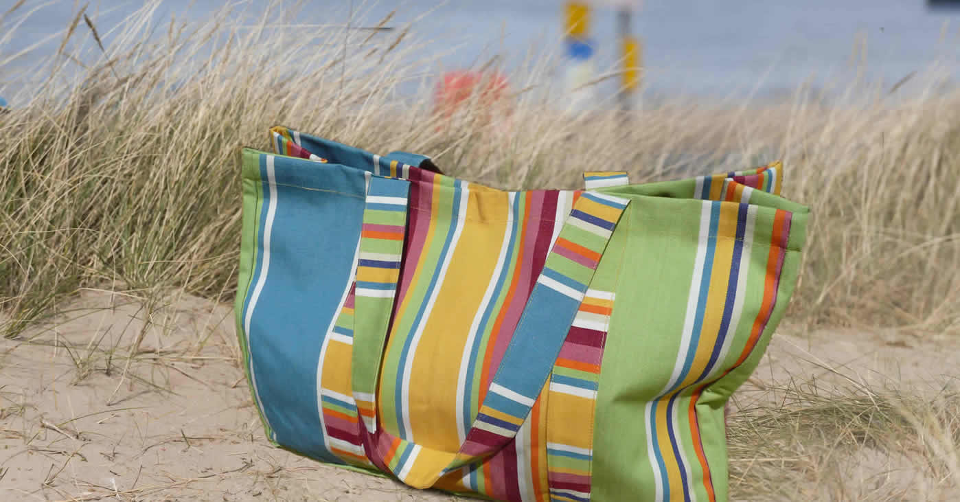 Striped Beach Accessories